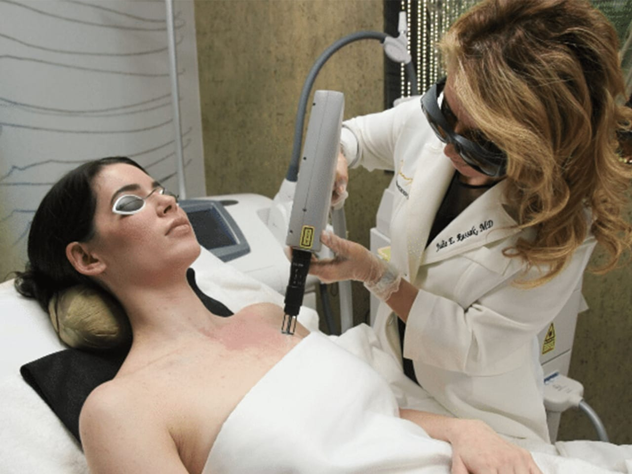 Aesthetic Laser Treatment at Russak Dermatology Clinic in New York City