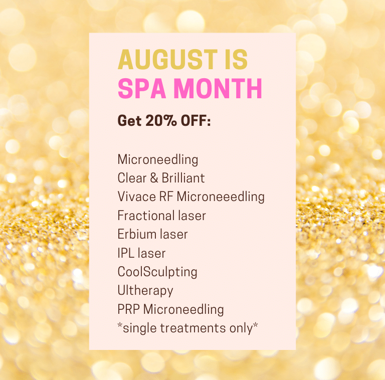 August Is Spa Promotion Month