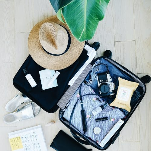 What A Dermatologist Packs For Overseas Flights