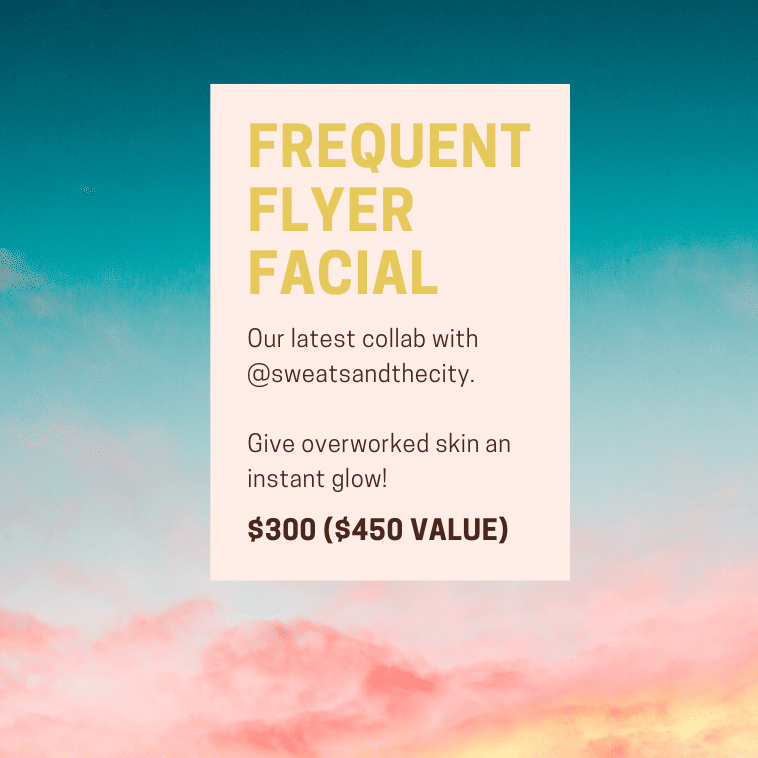 FREQUENT FLYER FACIAL