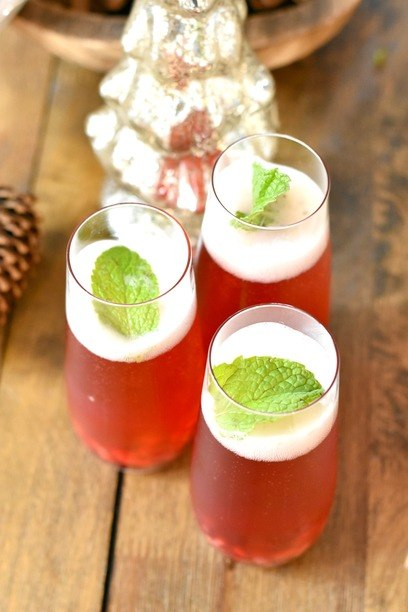Healthy Holiday Cocktail