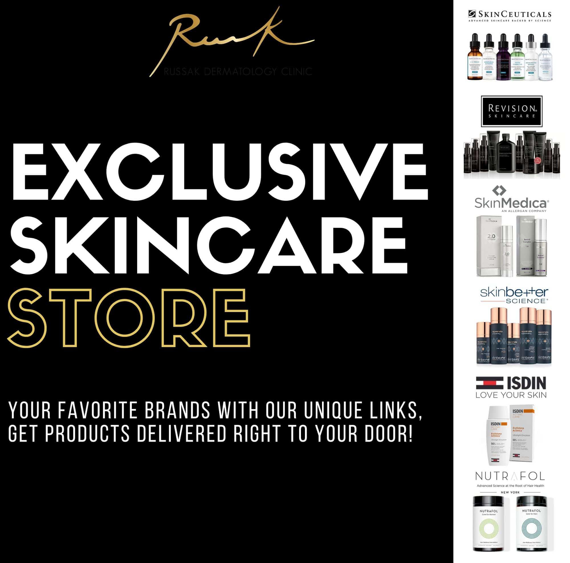 Exclusive Skincare Store