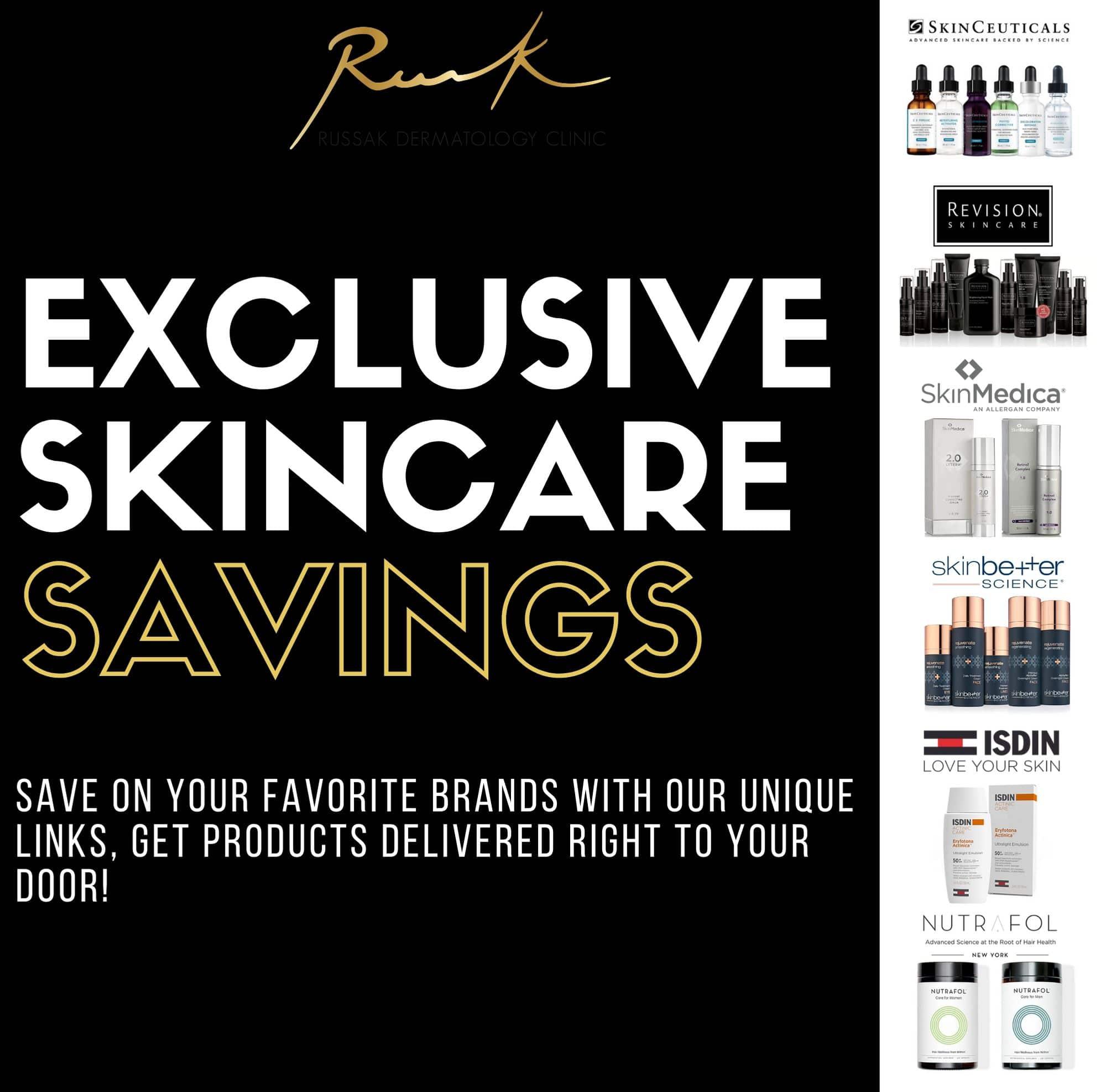 Exclusive Skincare Savings