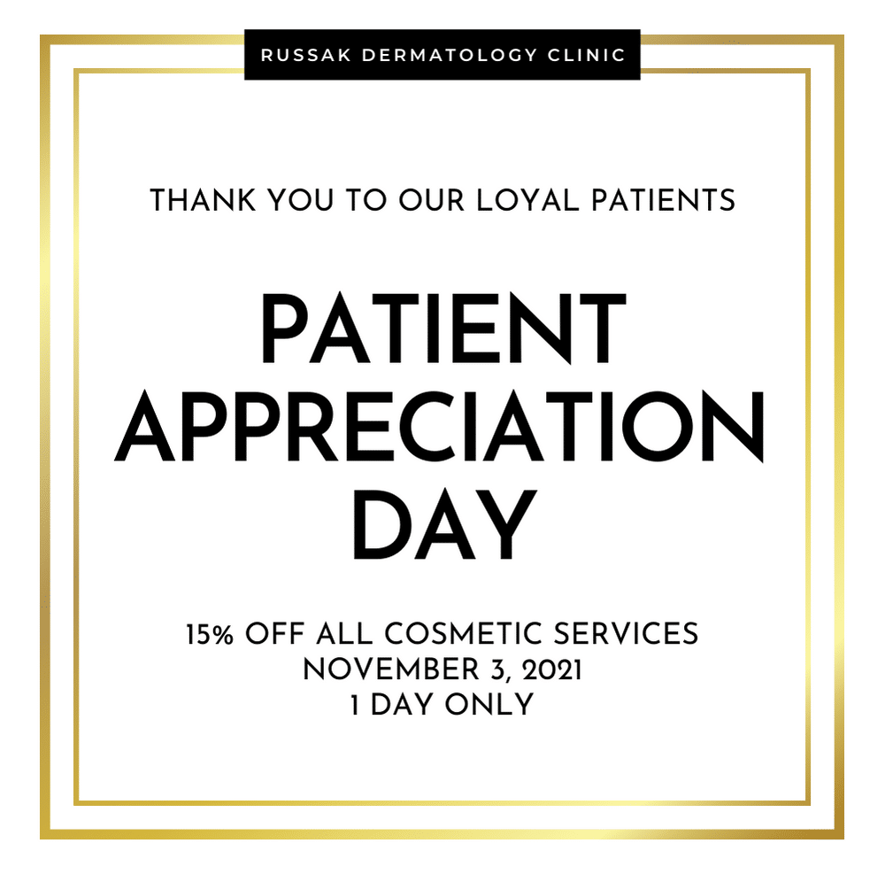 Patient Appreciation Day is Here! November 3rd, 2021